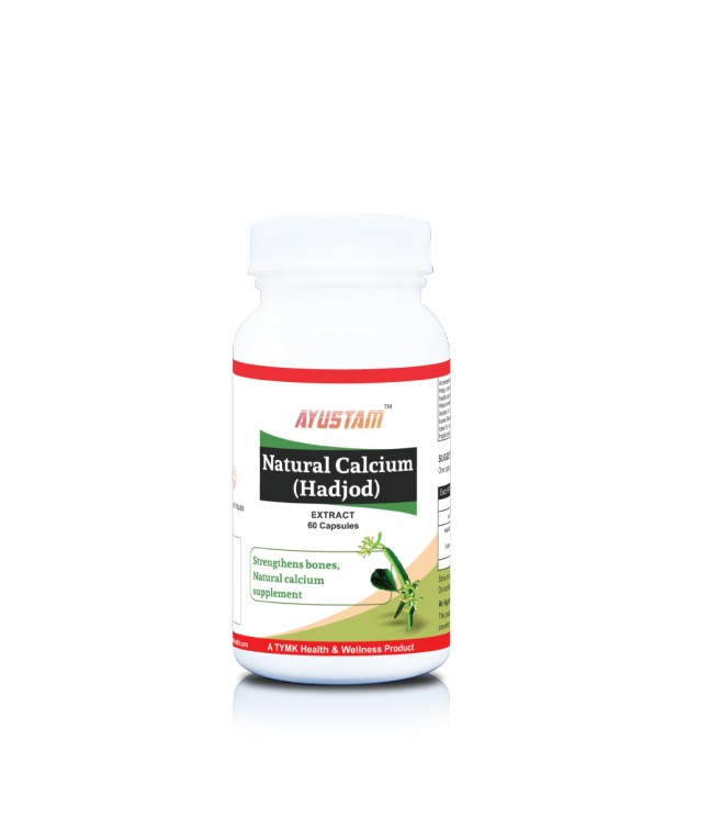 Natural Calcium (hadjod) Capsules
