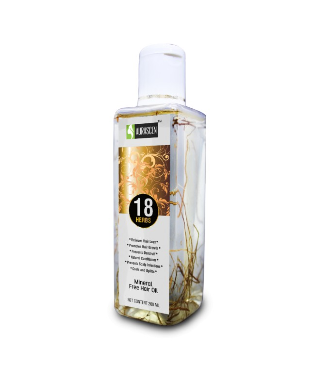 Mineral Free18 Herbs Hair Oil With Roots 200 ML