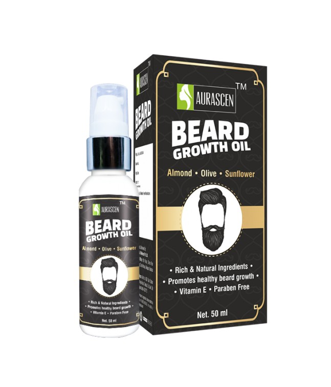 Beard Growth Oil (with Almond,olive & Sunflower) 50 ML