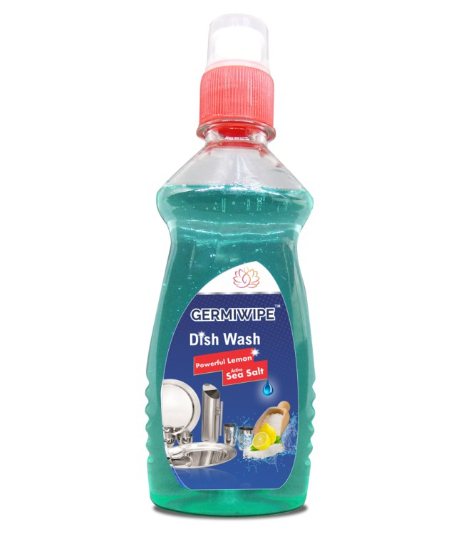 Dish Wash With Lemon And Sea Salt (double Power) (blue) 250 ML